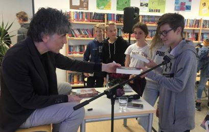 Jugendbuchautor besucht Nackenheimer Gymnasium