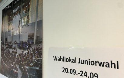 Juniorwahl am Gymnasium Nackenheim